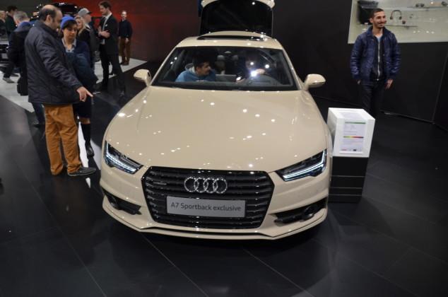 Audi A7 Sportback exclusive