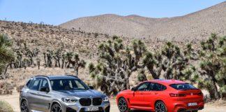 BMW predstavuje športové SUV X3 M a X4 M