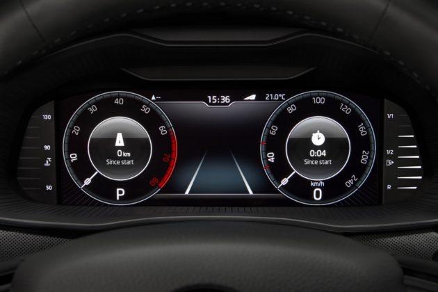 Škoda Kamiq infotainment