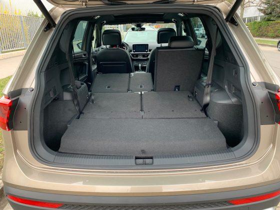 SEAT Tarraco 2.0 TSI 190 4Drive kufor autotest.sk
