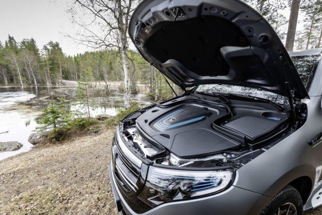 Mercedes-Benz EQC motor prvá jazda autotest.sk