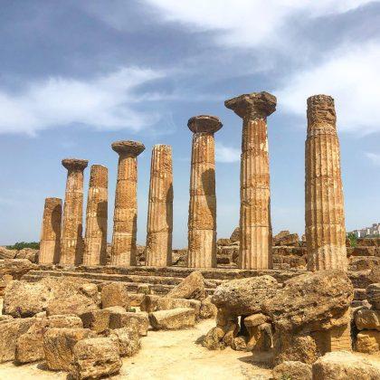 Temple of Hercules Sicilia