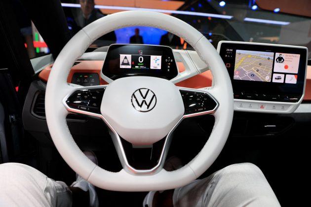 VW ID.3 interiér autotest.sk