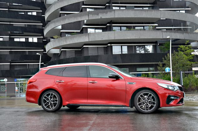 Test: Kia Optima SW 1.6 T-GDi GT Line