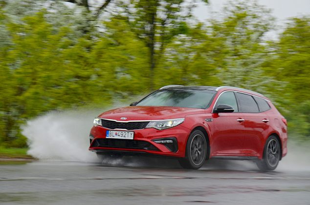 Test Kia Optima SW 1.6 T-GDi GT Line
