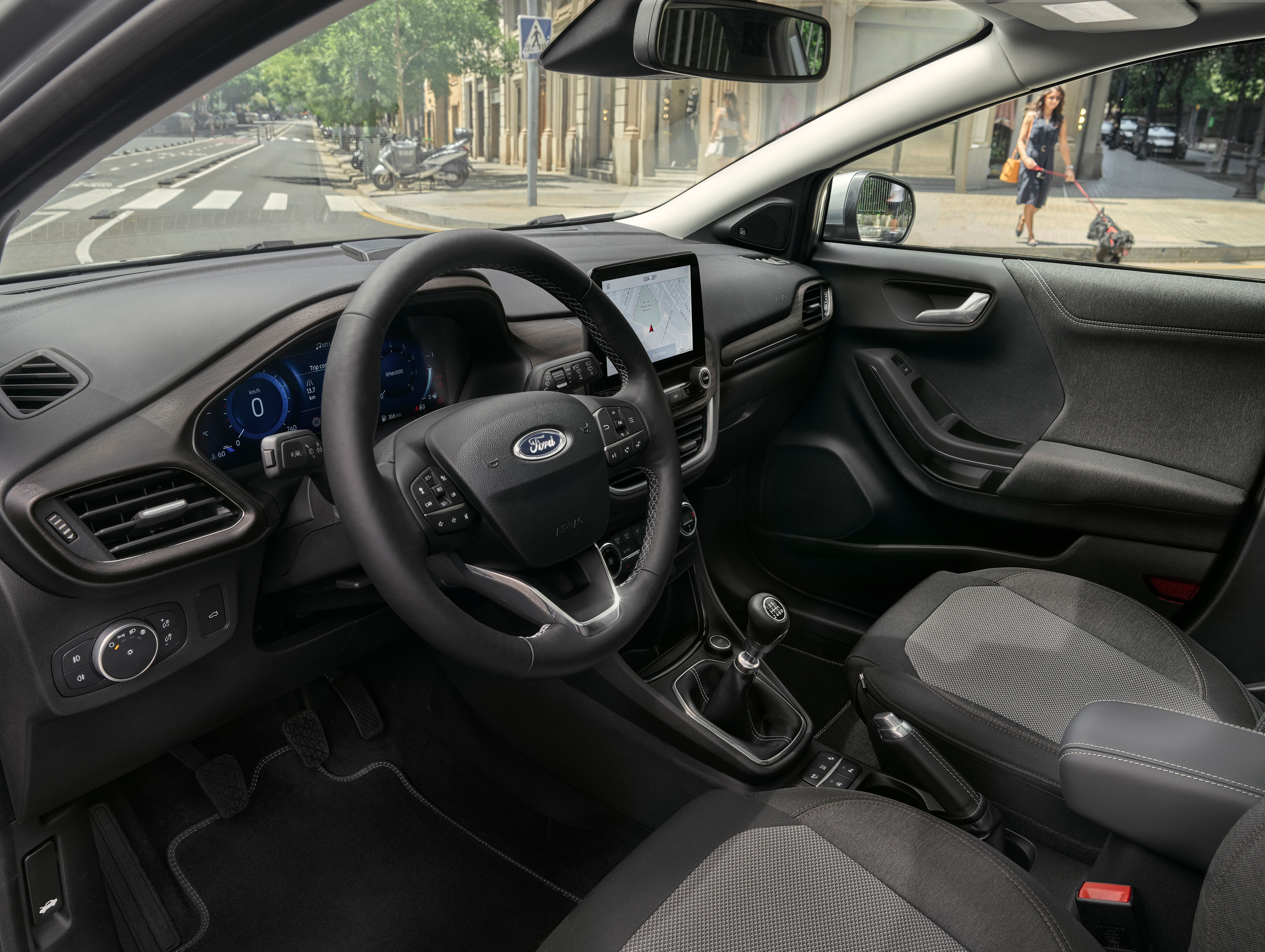 Ford Puma Titanium X interier autotest.sk