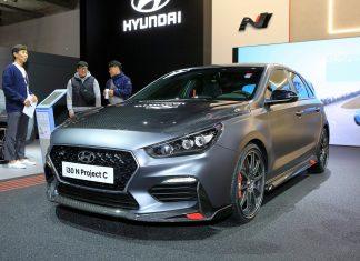 Hyundai i30 N Project C iaa 2019 autotest.sk
