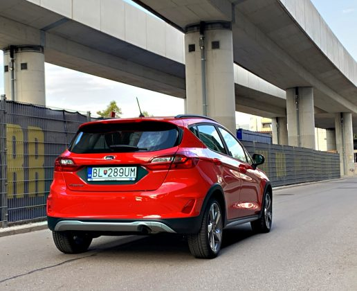 Ford Fiesta Active 1.0 Ecoboost autotest.sk