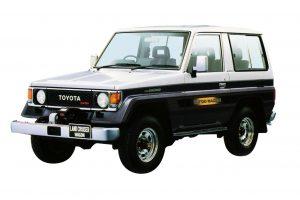 Toyota Land Cruiser Light Duty 70 1985