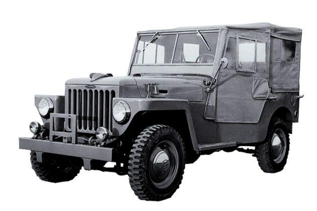 Toyota Land Cruiser Heavy Duty 1951