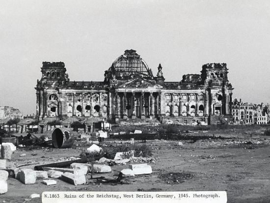 Before-Reichstag - Berlin