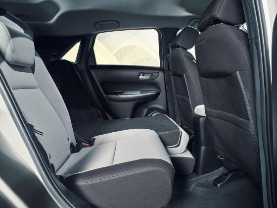 Nová Honda Jazz-zadné sedalá Magic Seats