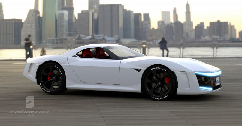Koncept Tesla GT