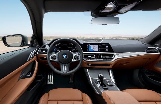 Nový BMW radu 4 - interiér