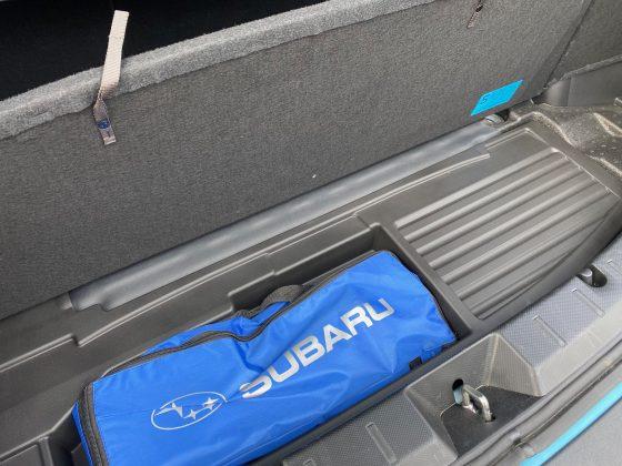 Subaru XV e-Boxer-dvojité dno kufra