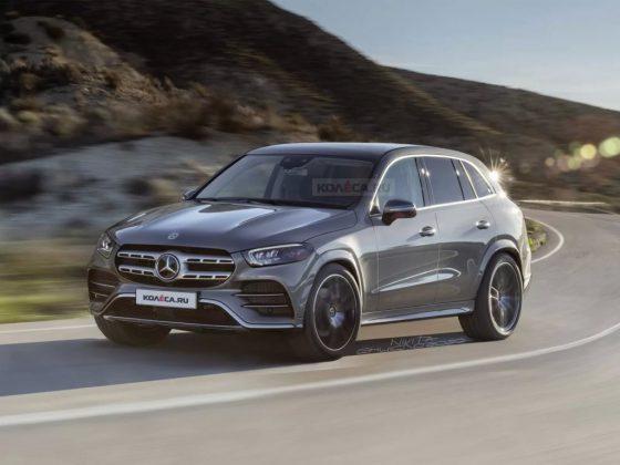 Nový Mercedes-Benz GLC s odkrytou kamuflážou