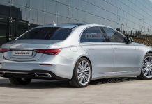 Nový Mercedes Benz triedy S