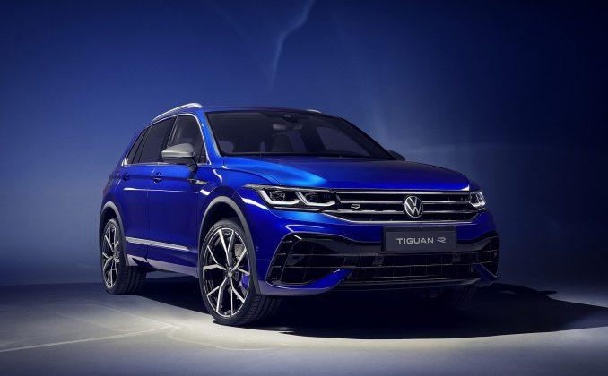 Nový VW Tiguan R -nová verzia