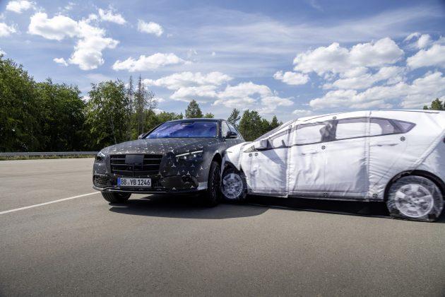 Nový Mercedes Benz triedy S,Bočný impulz PRE-SAF