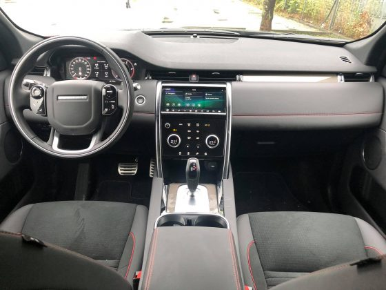 Land Rover Discovery Sport facelift, interiér