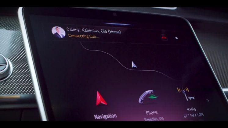 Nový Mercedes-Benz triedy S -infotainment