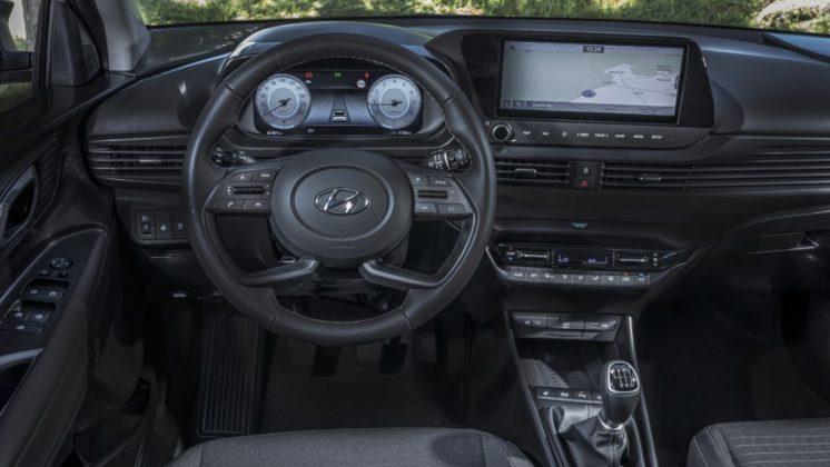 Nový Hyundai i20 -interiér