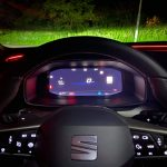 Nový SEAT Leon -digitálna prístrojový štít
