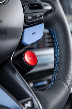Nový Hyundai i20 N- volant s ovládaním N režimov
