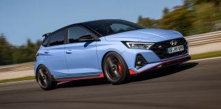 Nový Hyundai i20 N na okruhu