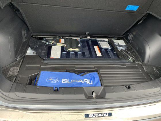 Subaru Impreza e-Boxer - dvojitá podlaha