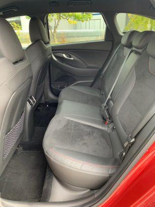 Nový Hyundai i30 kombi N-Line -zadné sedadlá
