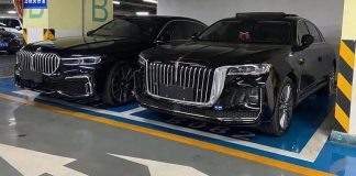 BMW radu 7 a Hongqi H9
