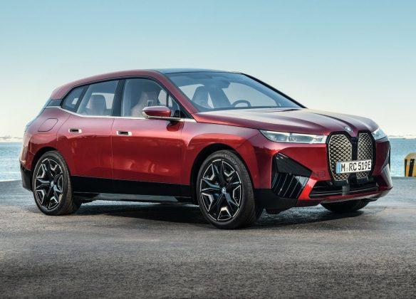 BMW iX-SUV elektromobil