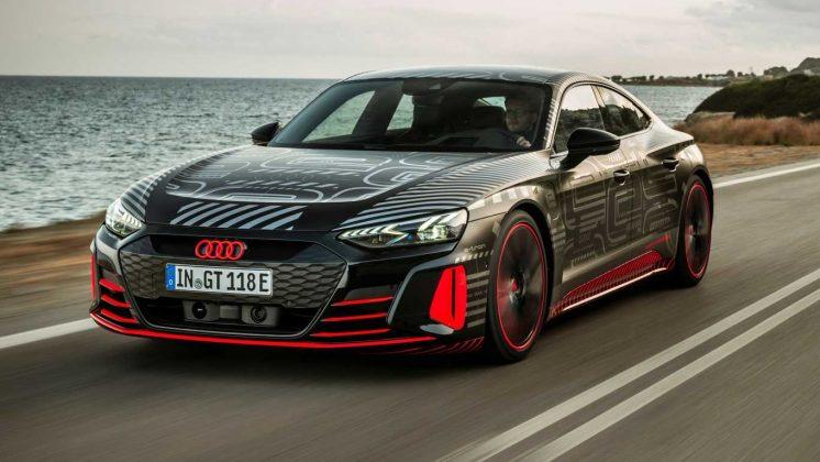 Audi RS e-tron GT v jazde