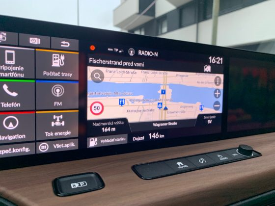 Honda e - navigácia