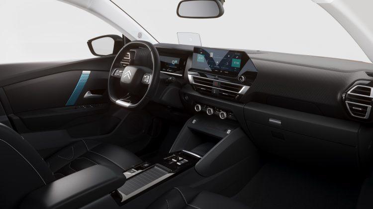 Nový Citroën C4 - prístrojovka