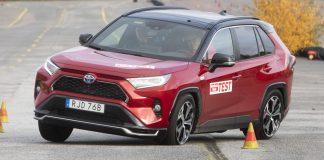 Toyota RAV4-losí test