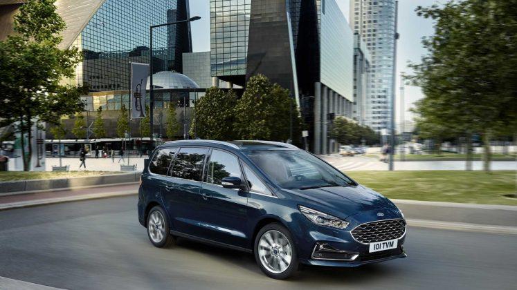 Nový Ford Galaxy Hybrid