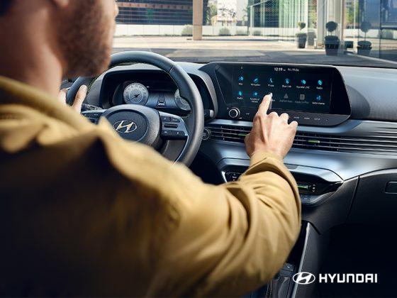 Hyundai i20- interiér