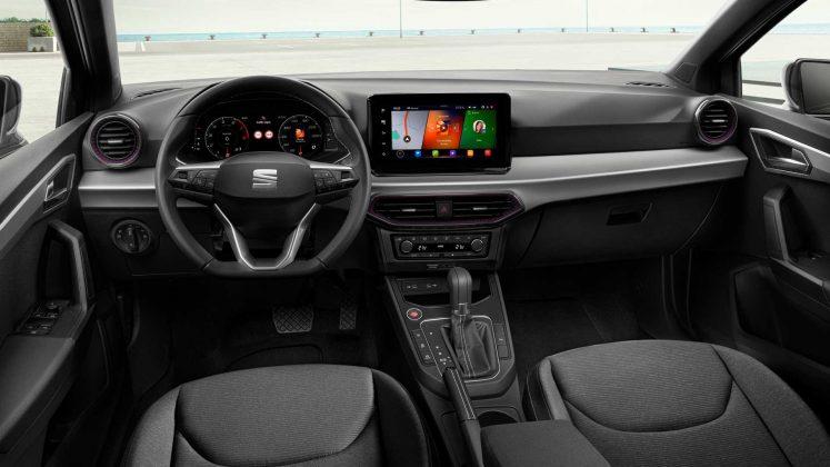 2021-seat-ibiza-facelift -prístrojový panel