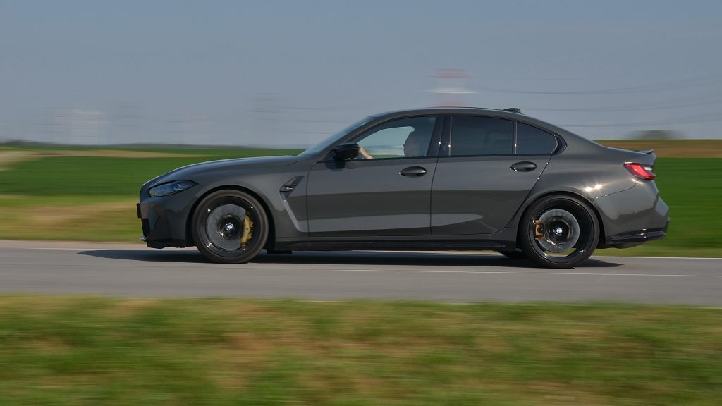 BMW M3 Competition 2021 jazda autotest.sk